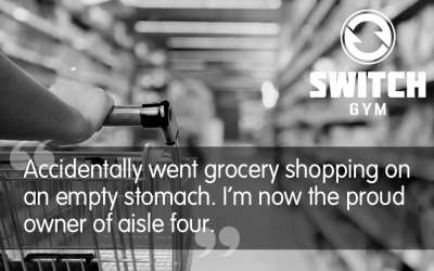 Supermarket on an empty stomach…