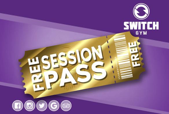 Switch Gym Free 5 Day Gym Pass