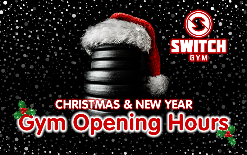 Gym Opening Hours over Christmas & New Year 2020